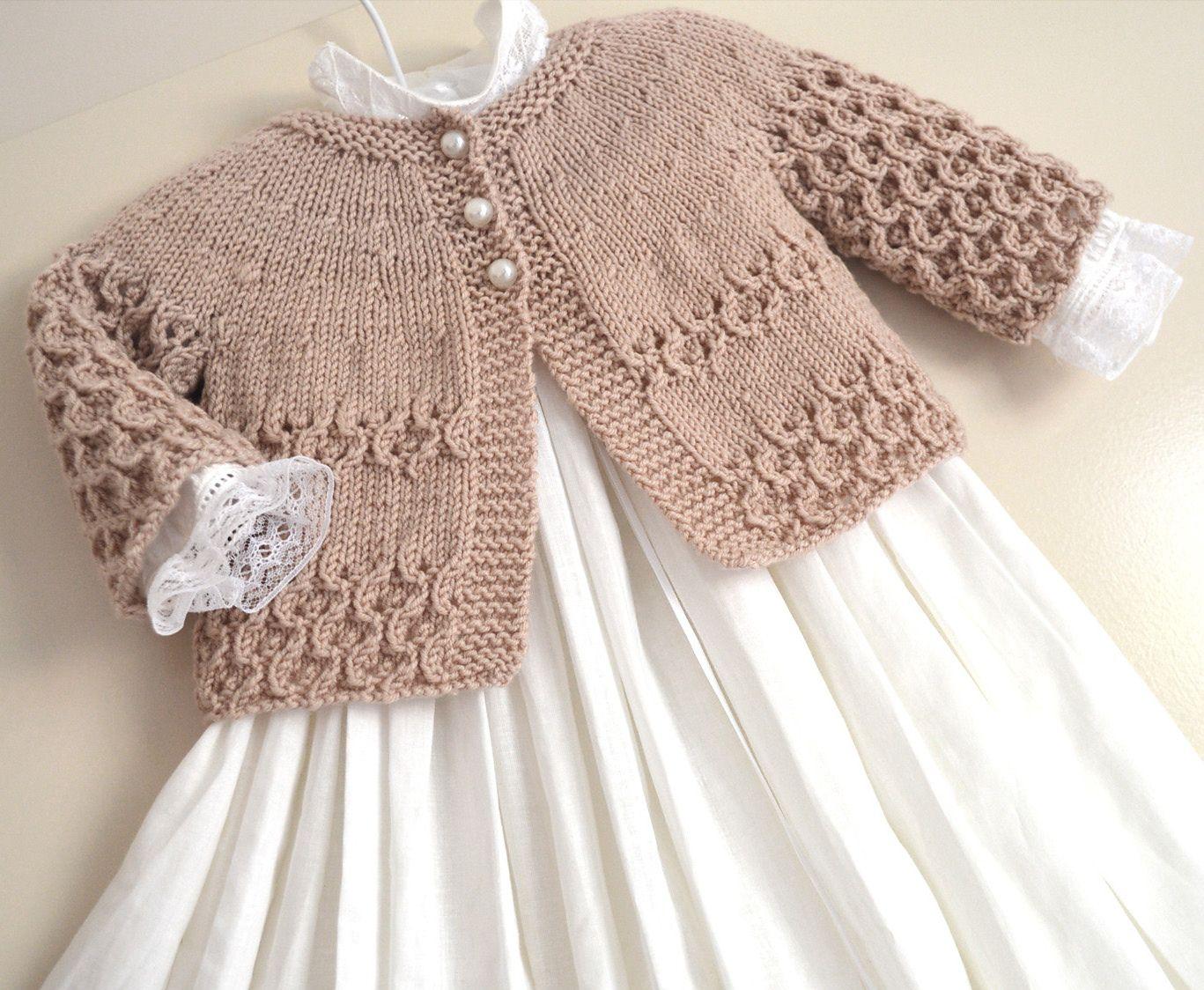Round Yoke Cardigan Pattern By Oge Knitwear Designs Baby Knitting Patterns Knitwear Design Cardigan Pattern