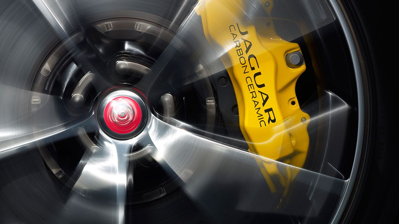 Carbon Ceramic Brakes with Yellow Calipers  Are you