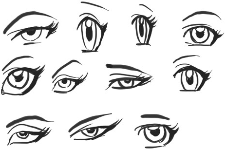 Draw Anime Eyes Females How To Draw Manga Girl Eyes Drawing Tutorials How To Draw Step By Step Drawing Tutorials Girl Eyes Drawing Eye Drawing Anime Eye Drawing