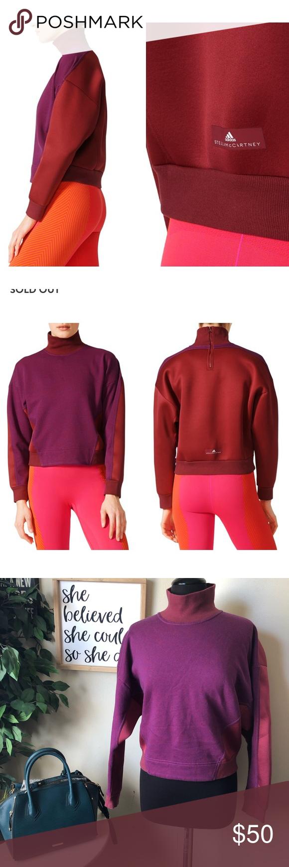 Yoga Turtleneck Sweatshirt Adidas Stella Mccartney Stella Mccartney Adidas Sweatshirts Turtleneck Sweatshirt [ 1740 x 580 Pixel ]