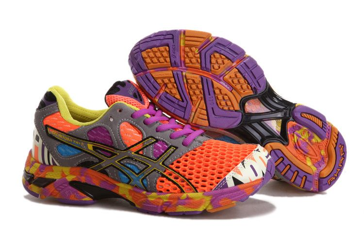 asics gel noosa tri 7 purple flowers