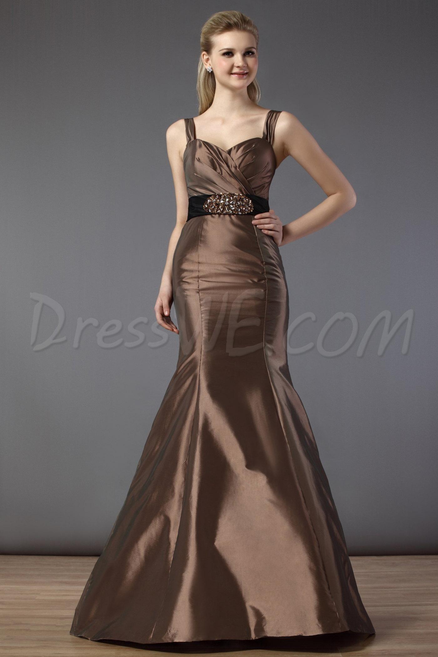 Fabulous Ruched Sashes/Ribbons Trumpet Spaghetti Straps Bridesmaid Dress 10521501 - 2013 Bridesmaid Dresses - Dresswe.Com