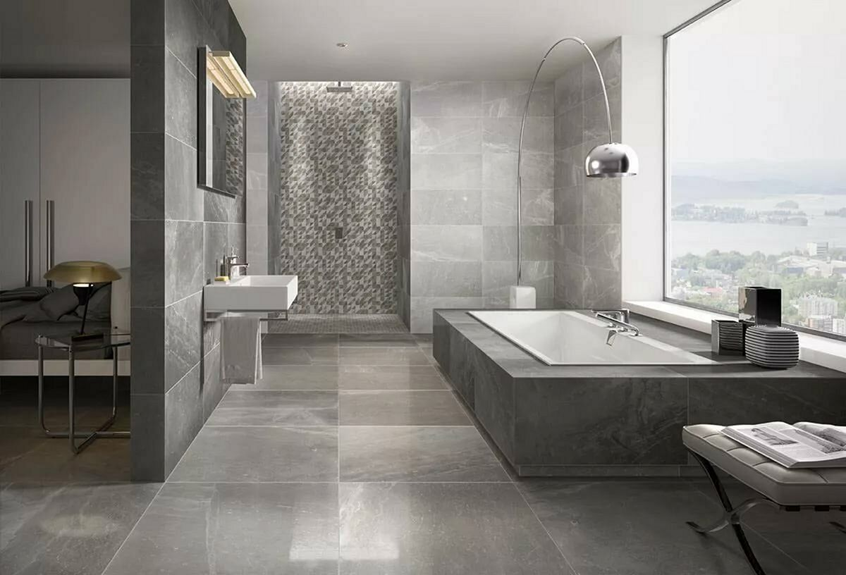 Creative Bathroom Wall Ceramic Ideas