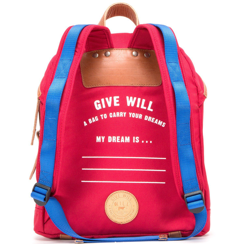 Will Leather Goods Will Leather Goods Give WILL® Backpack Large ... 2fc977da4441