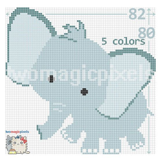 how to make a crochet graph pattern