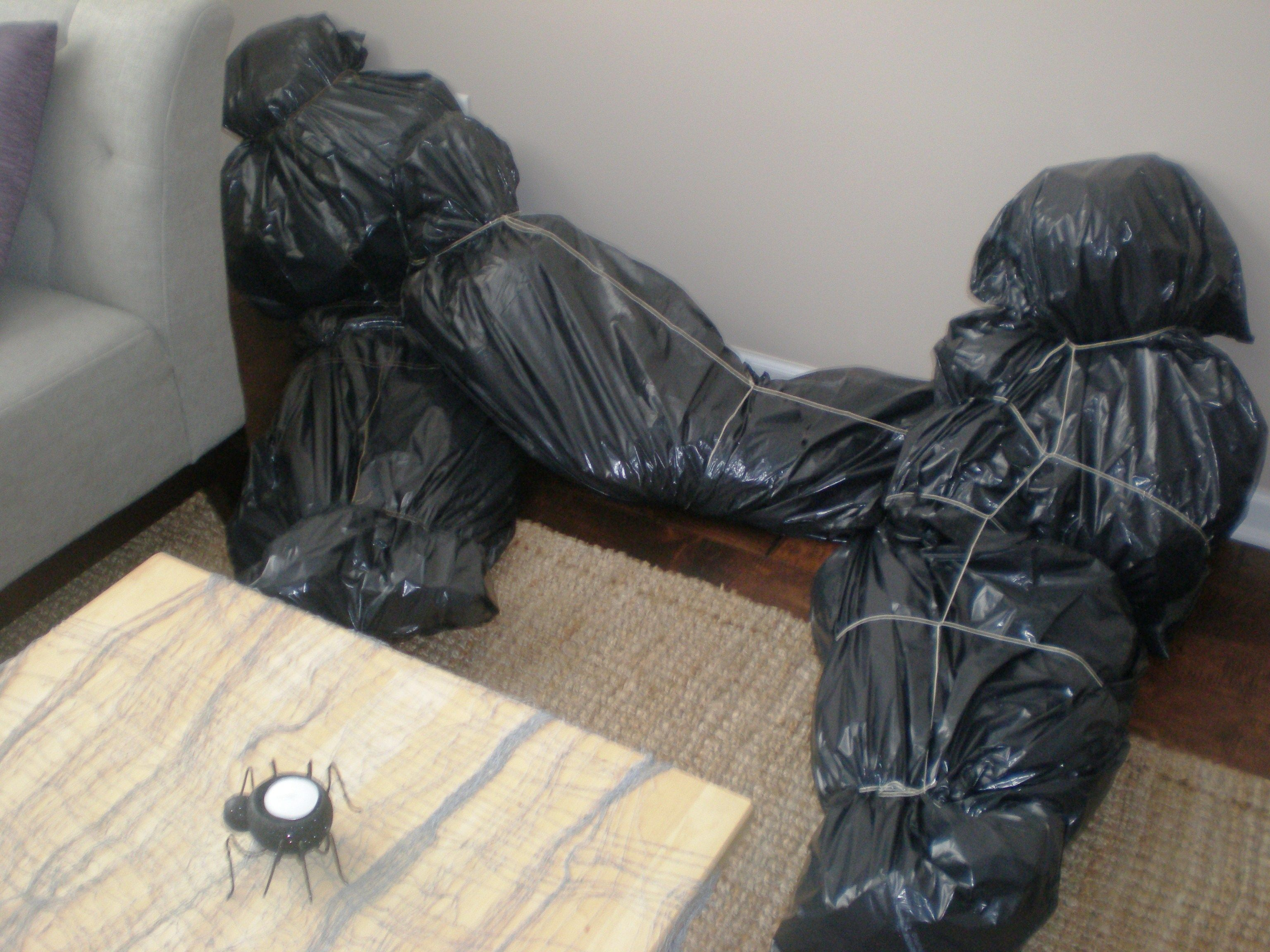 My Personal Bagged Bodies I Made Black Trash Bags Lots