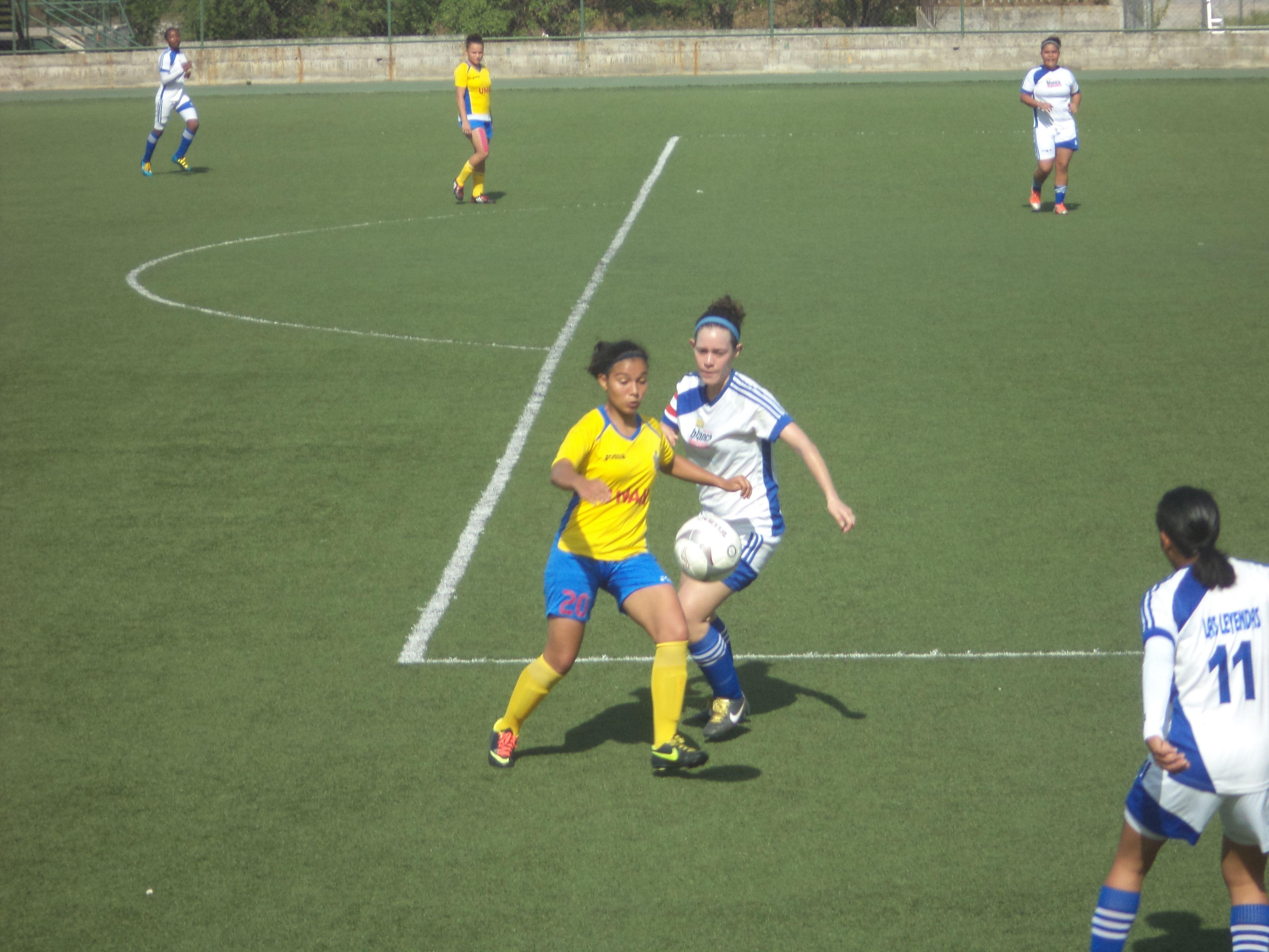 Primera Fecha, Torneo Apertura 2014-2015 del Fútbol Femenino Nicaragüense - XXIII Torneo Nacional   UNAN-Managua 3-0 Leyendas del Fútbol
