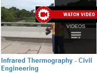 Thermography in Civil Engineering. Videos at   http://www.youtube.com/playlist?list=PLfDhf4vwB9gI9Fe4cuycNuvWyswXfr4UJ