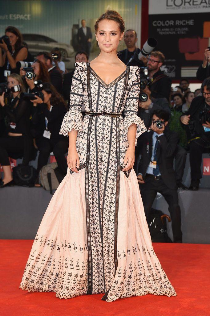 Alicia Vikander - Louis Vuitton ('The Danish Girl' premiere, 2015 Venice Film Festival)