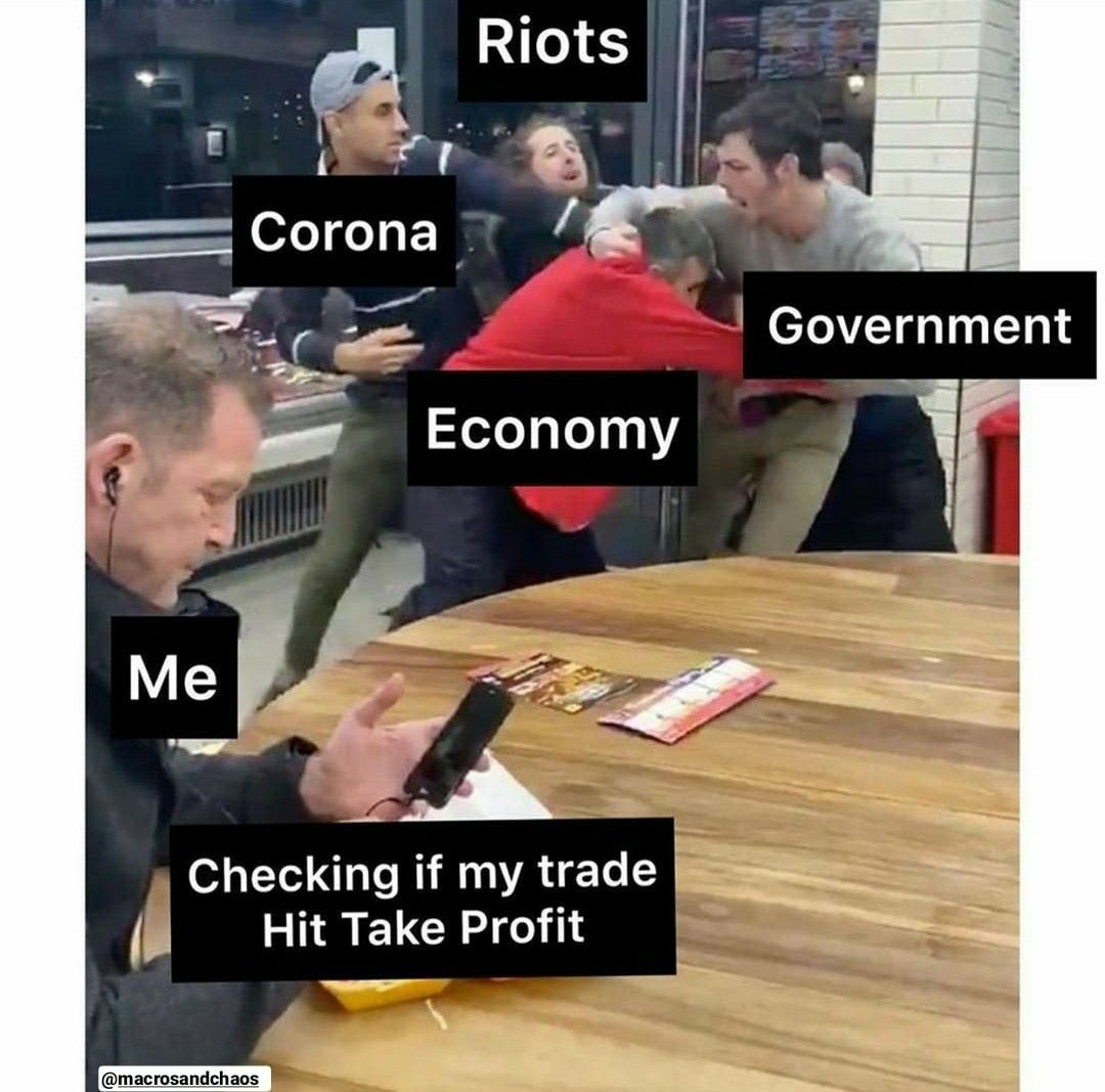 A Trader Minding His Own Business Trading Memes Smart Money Trading Money Meme
