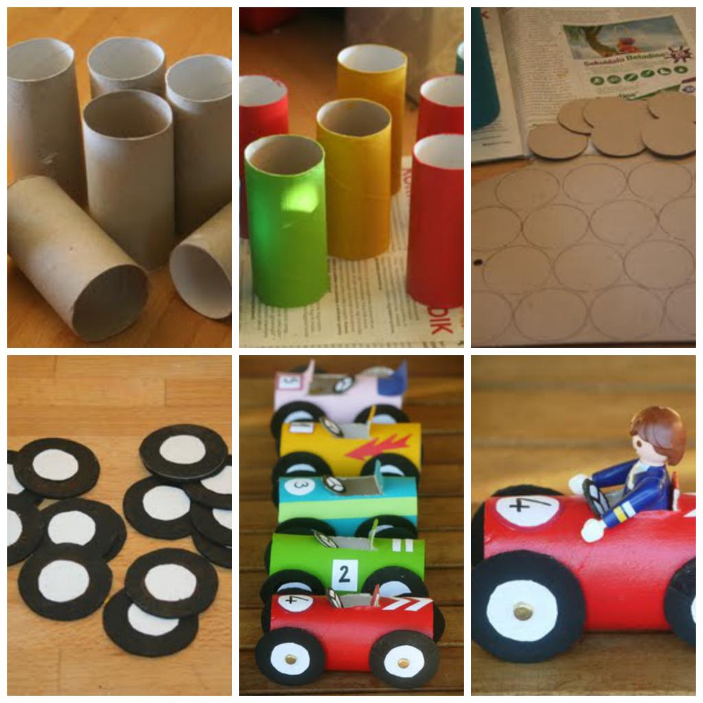 Manualidades con reciclaje para niños en el Día Internacional del ...