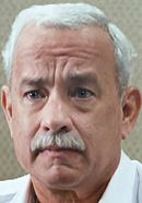 Tom Hanks as Captain Sully. See pics of the real people behind the Sully movie: http://www.historyvshollywood.com/reelfaces/sully/