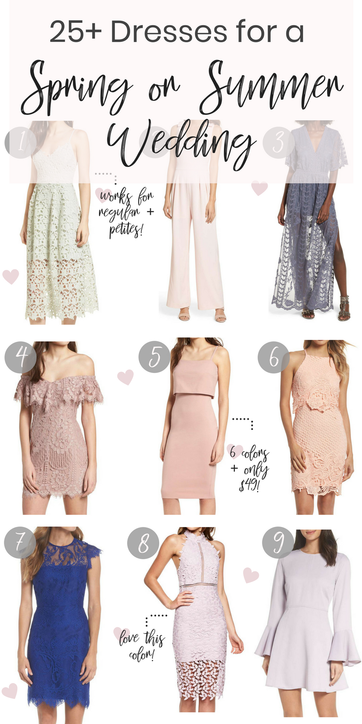 25 Dresses For A Spring Or Summer Wedding Picoftheday Food Acne You Wedding Guest Outfit Summer Outdoor Wedding Guest Dresses Wedding Guest Dress Summer [ 1470 x 735 Pixel ]