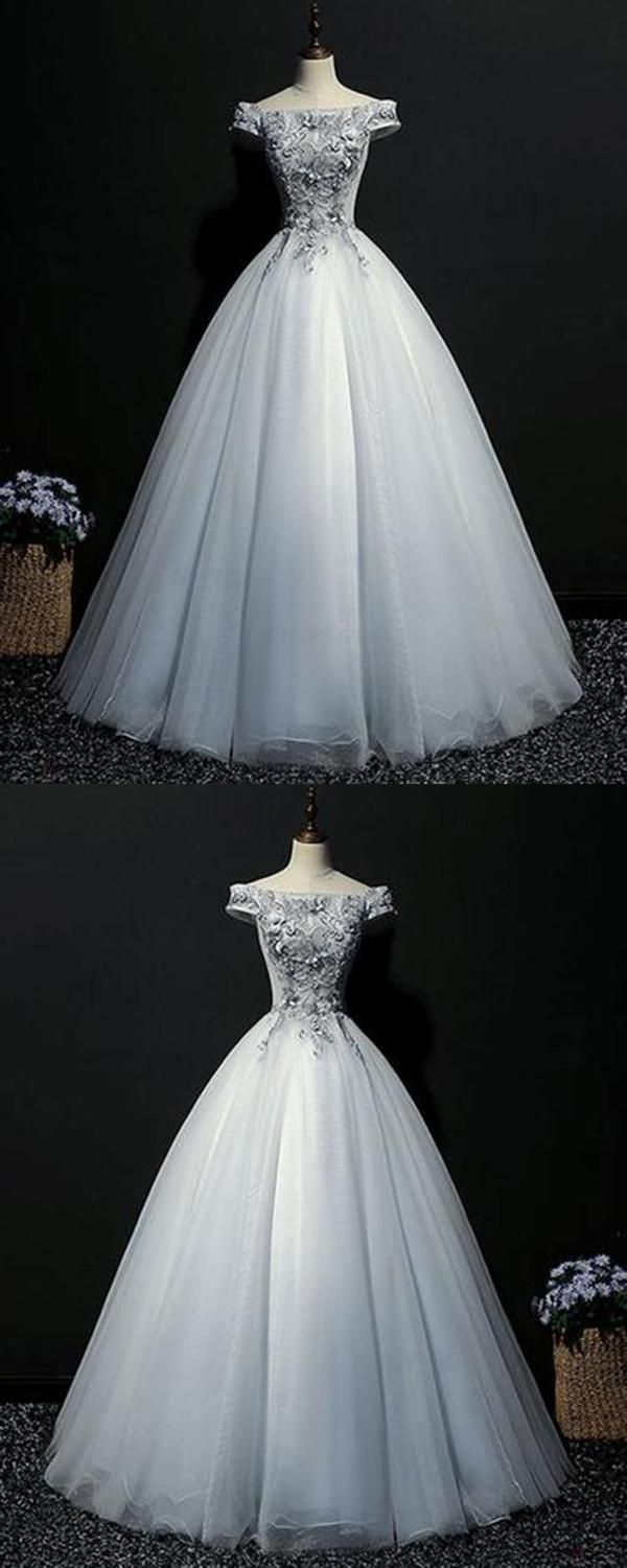 With sleeves with appliques qprom prom dresses