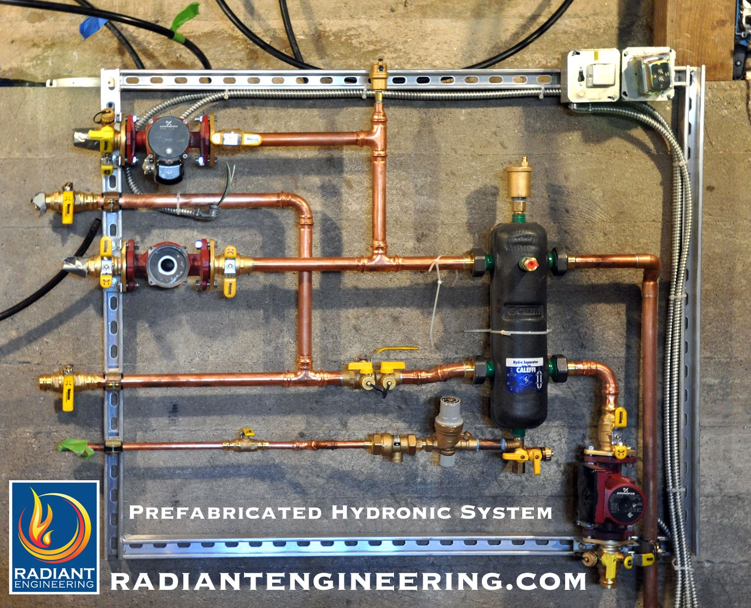 Radiant Engineering Manufactures Pre Fabricated Hydronic Heating