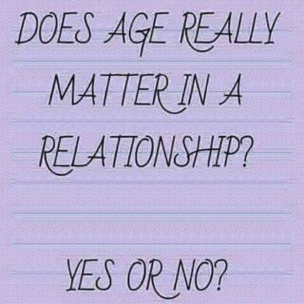Relationship Matter A Does Really Age In