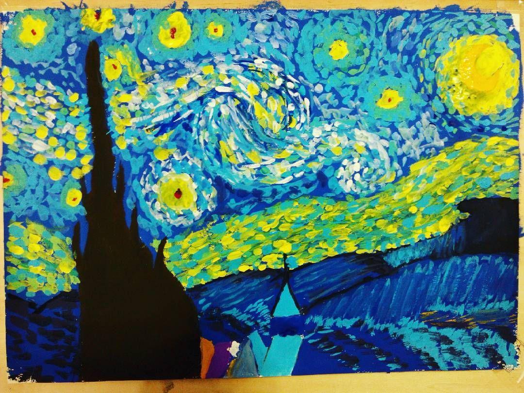 """Sorry Vincent # starry night #vangogh"""