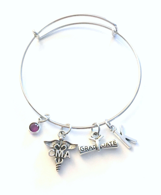 Graduation Gift For CMA Bracelet, Certified Medical