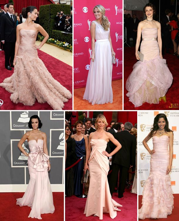99a2a4b968a3d gowns and celebrities | Check out the following blush-colored wedding gowns  for some .