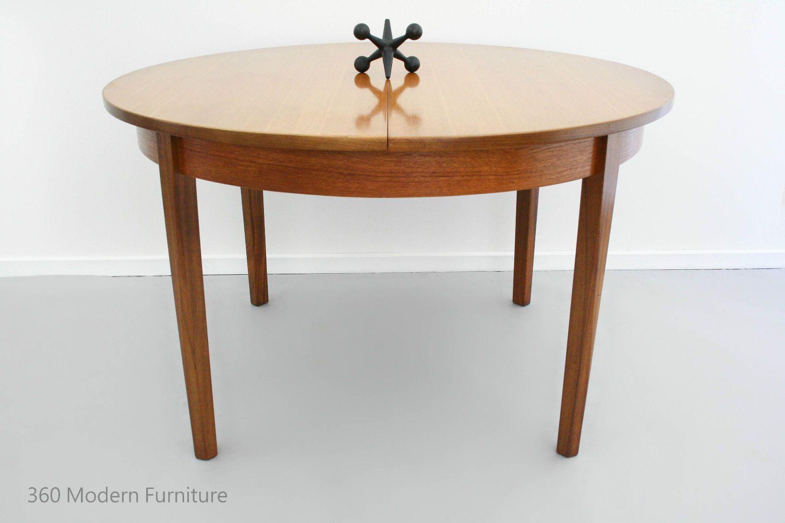 Mid Century Extension Dining Table William Lawrence Nottingham Uk Seats 4 6 Vintage Retro Teak Scandi Modern Furniture Mid Century Dining Mid Century Furniture