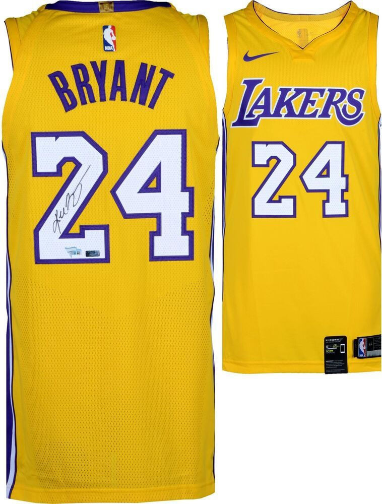 094a0db053a Kobe Bryant Los Angeles Lakers Signed 2018 Nike Gold Authentic Jersey -  Panini  sportsmemorabilia  autograph  basketballjersey