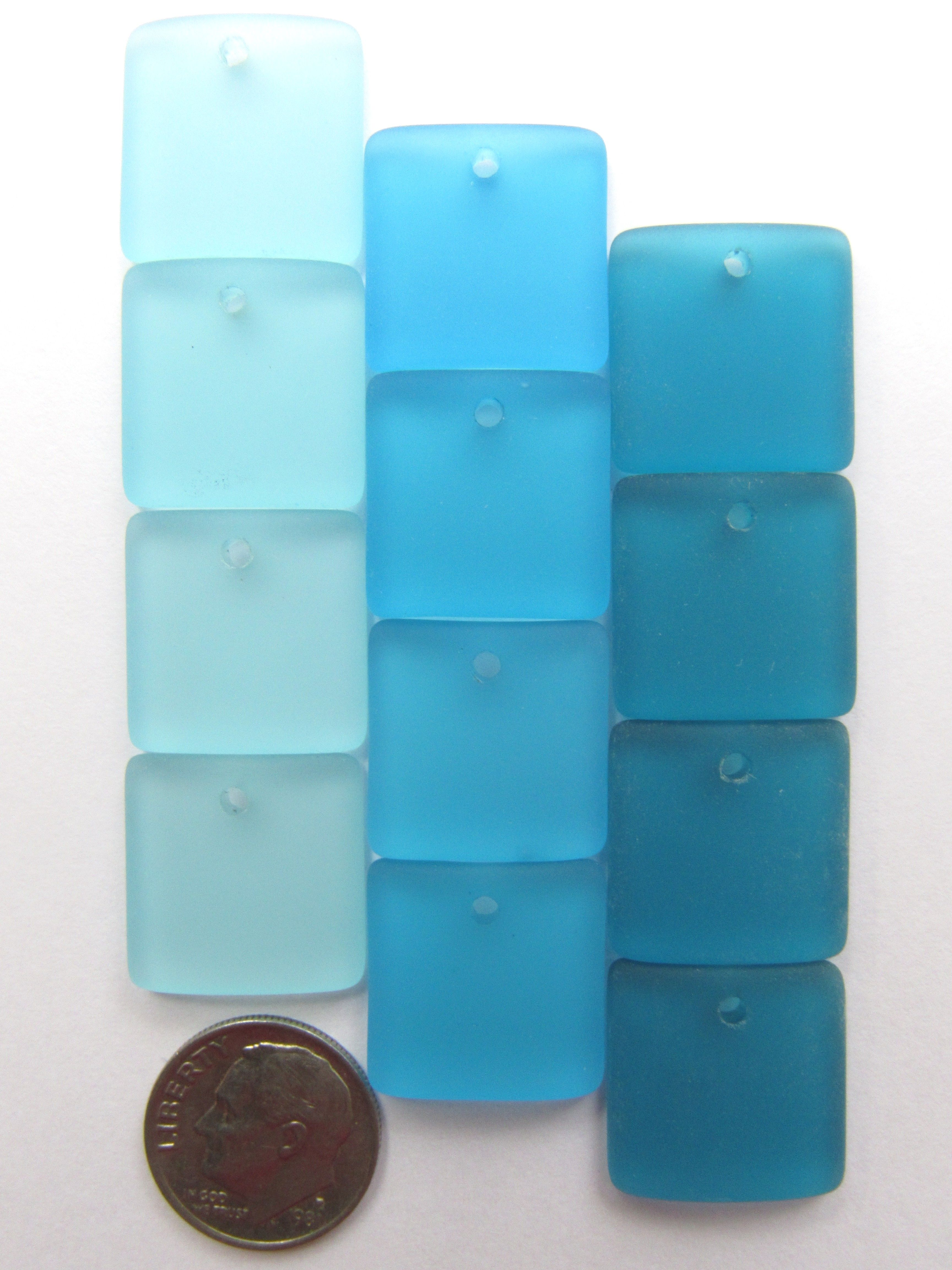 Each Square Bottle Curved Pendant Measures 19X16Mm And Is Top