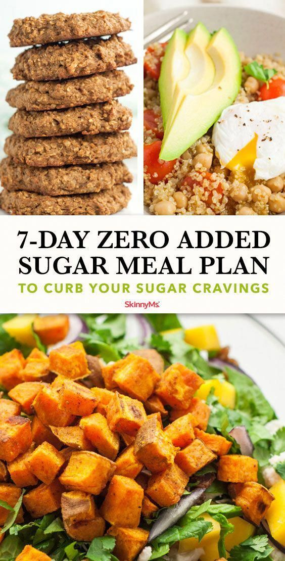 #7day #Added #Clean Eating Diet Recipes #Cravings #Curb #meal #plan #Sugar Get ready to kick-start your new diet plan with this 7-day zero added sugar meal plan to curb your sugar cravings. This plan will get you set up for success! #KetoAndWeightLoss