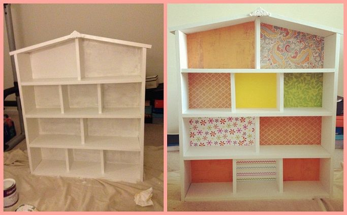 How To Build A Dollhouse Diy Barbie House Barbie House Barbie Doll House