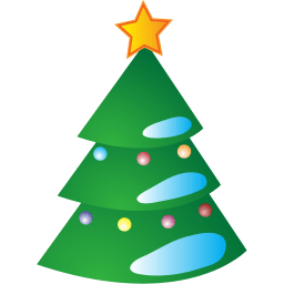 Christmas Tree Stickers For Facebook Timeline Chat Email