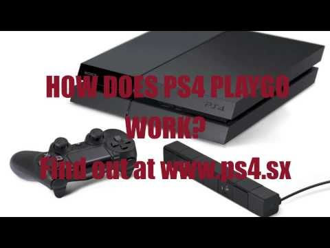 Ps4 Playgo How It Works Ps4 Playstation It Works