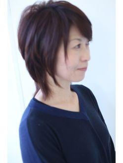 モテ髪 中島美嘉風ゆるふわウルフカット ヘアスタイル モテ髪 レイヤーカットヘア
