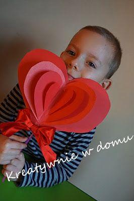 Serce Na Patyku Dla Babci I Dziadka Valentine Crafts Mothers Day Crafts Valentine Crafts For Kids