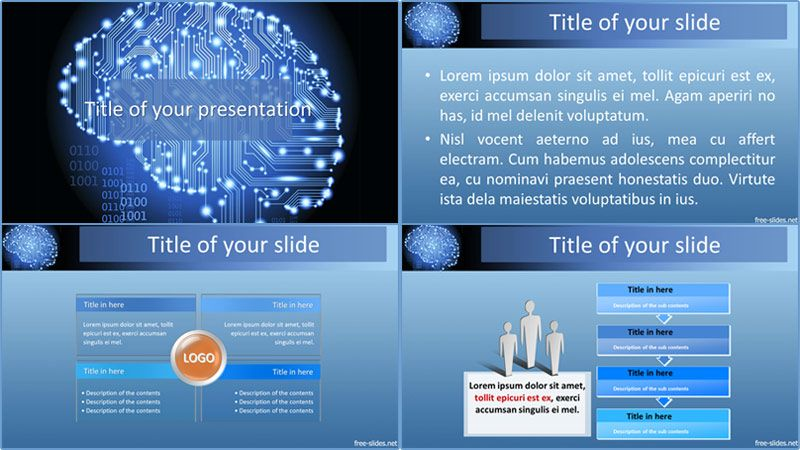 Artificial Intelligence Powerpoint Template Powerpoint Templates