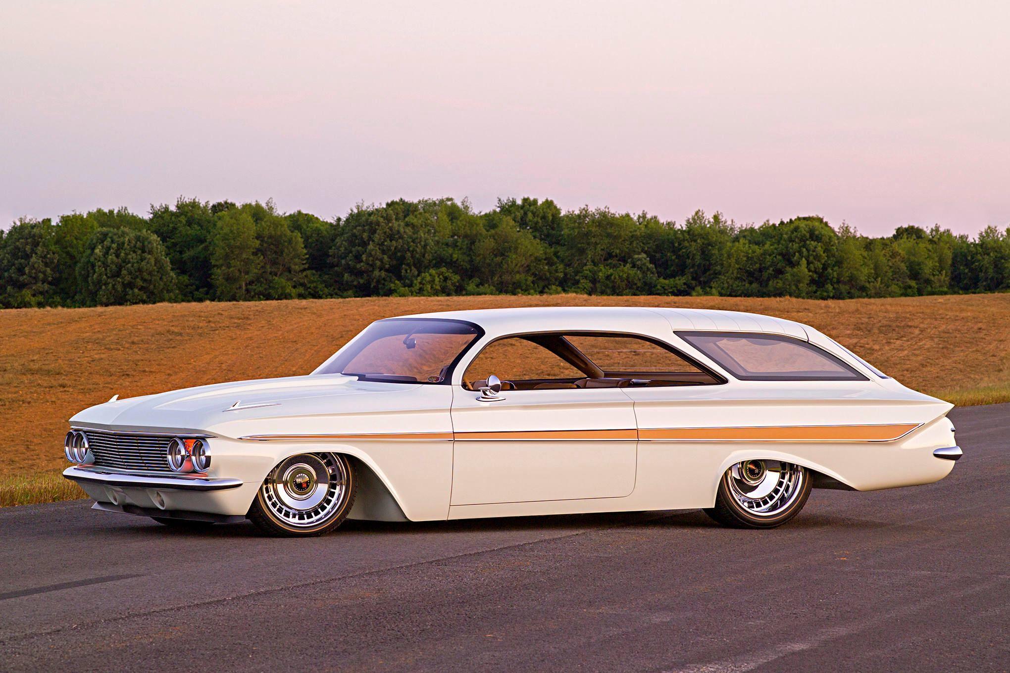 1961 Custom Chevrolet Impala Bubbletop Wagon the Double Bubble