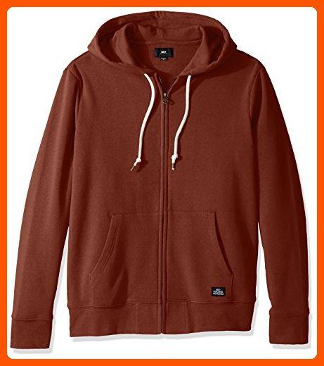 Obey Mens Lofty Comforts Zip Hood Fleece
