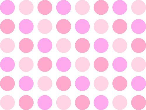 Pink polka dot background
