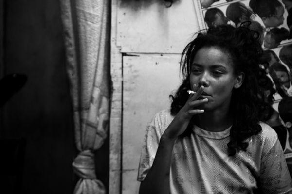 Berta Banacloche  Young prostitutes, Addis Ababa, Ethiopia