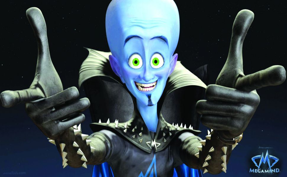 Megamind Hd Wallpaper Megamind Movie Animated Movies Comedy Movies