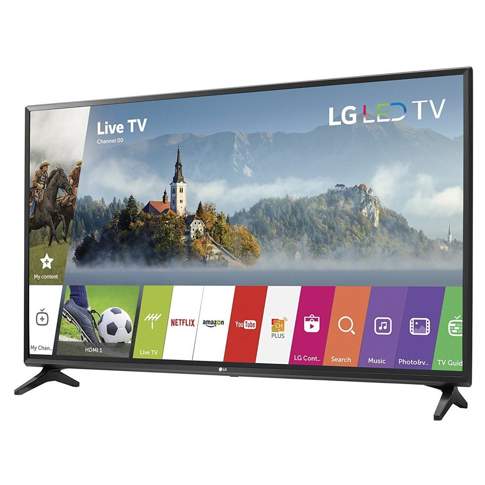 LG 55inch Full HD Smart TV 2017 Model 55LJ5500 with Deco
