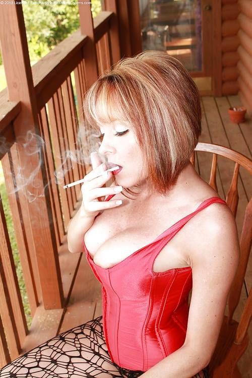 Women who enjoy smoking
