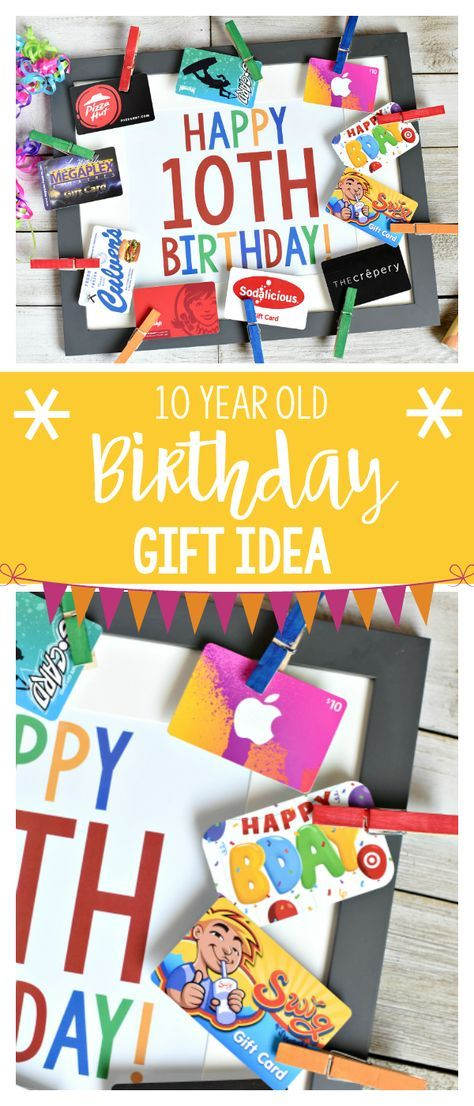 Fun Birthday Gifts For 10 Year Old Boy Or Girl Me Pinterest