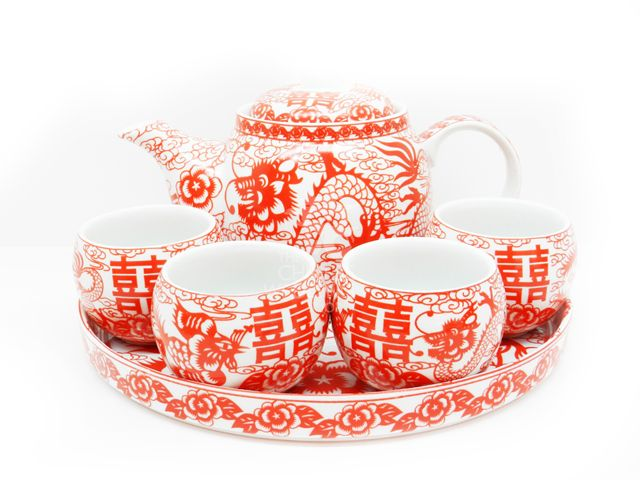 The Chinese Wedding Shop TeaTea CeremonyTea Sets