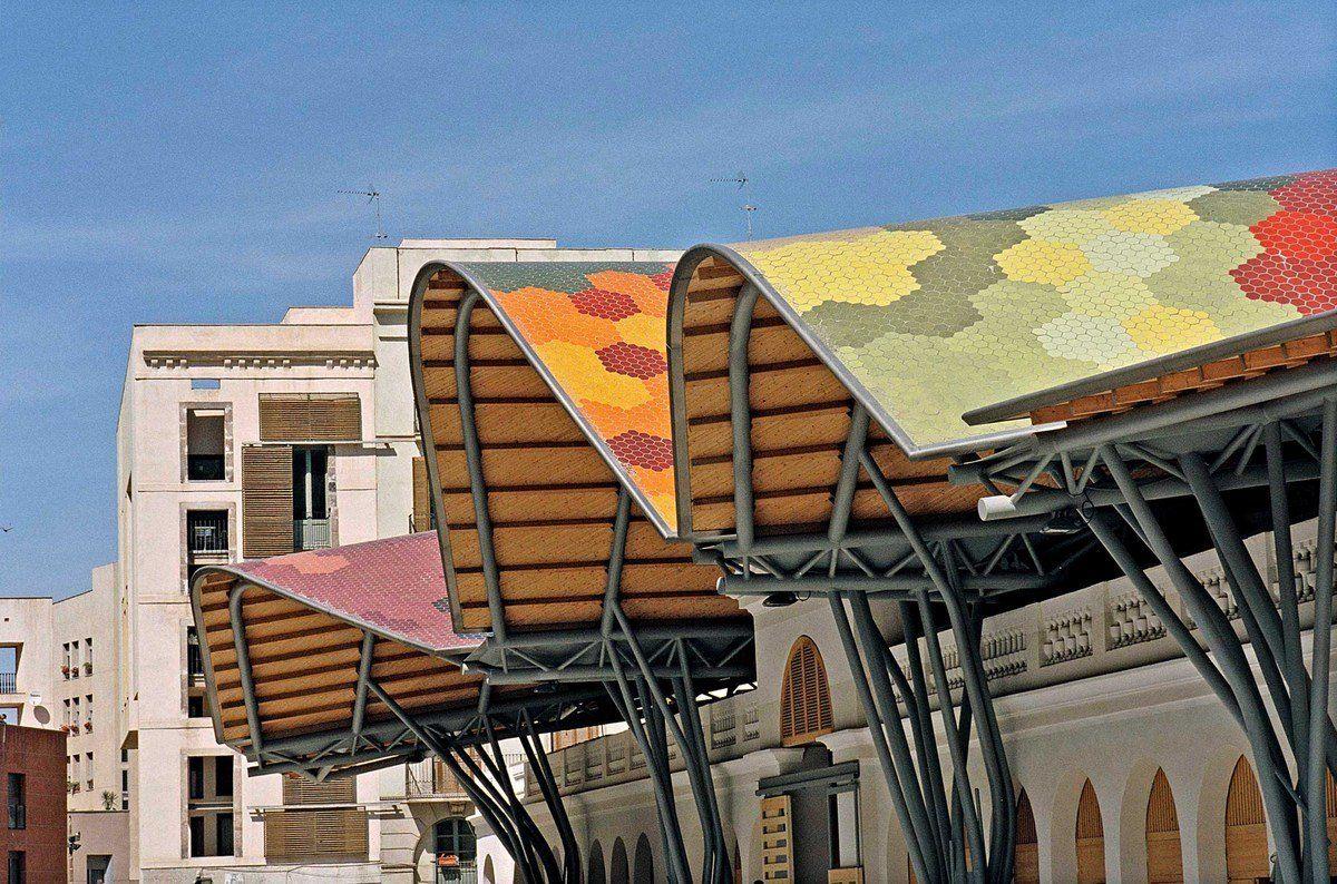 Mercado de Santa Caterina por EMBT Arquitectura