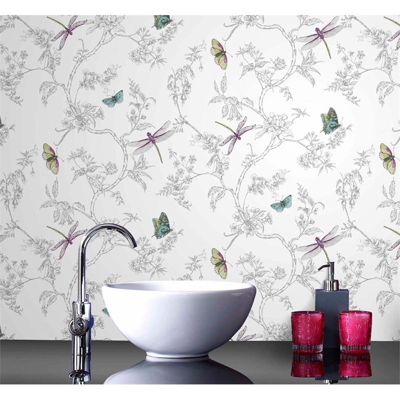 Contour Nature Trail Wallpaper Embossed Wallpaper Kitchen And Bathroom Wallpaper Small Tv Room