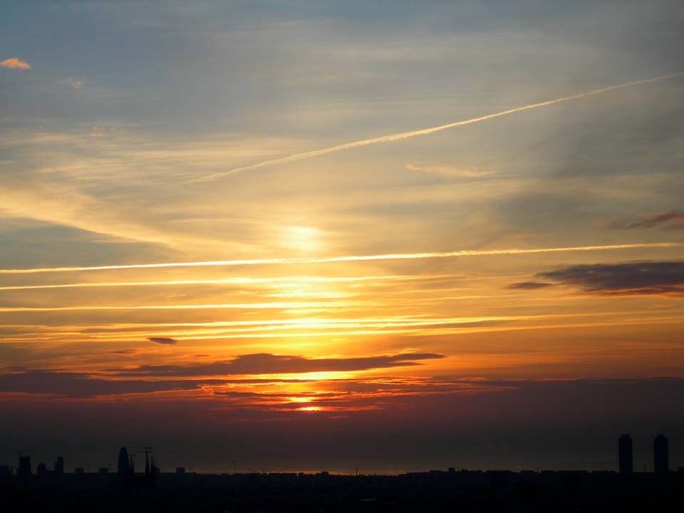 #amanecer #morning #Barcelona #sol #sun #Bcn #Bpremium