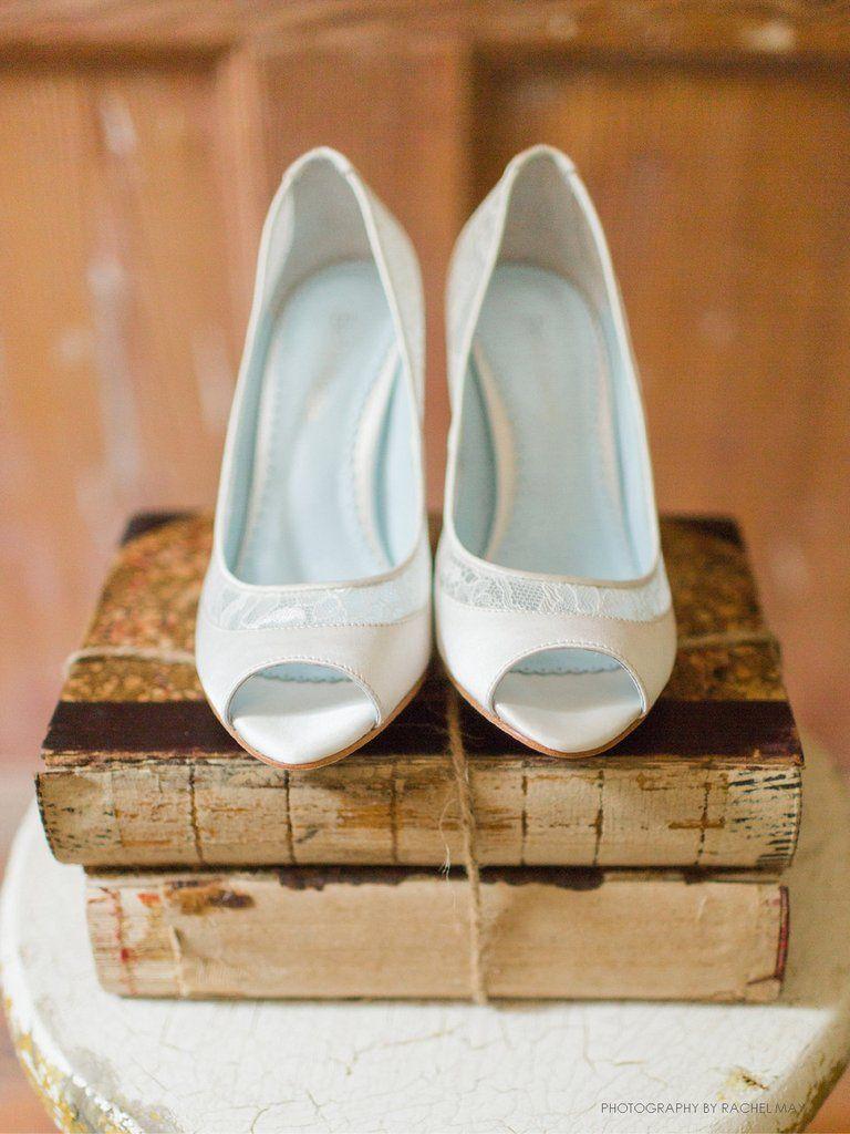 White lace peep toe wedding shoes miranda wedding heels wedding