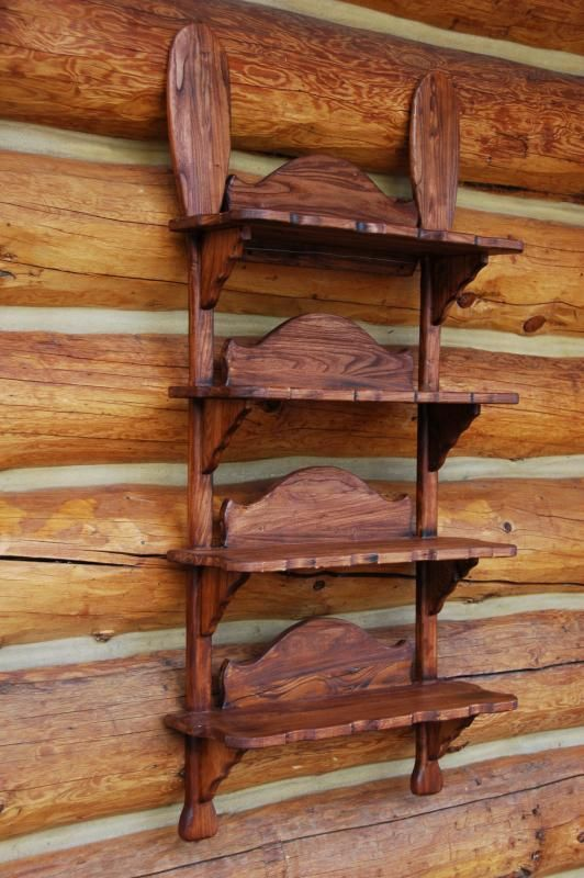 Canoe Paddle Shelf From Vintage Summer Decorating Ideas