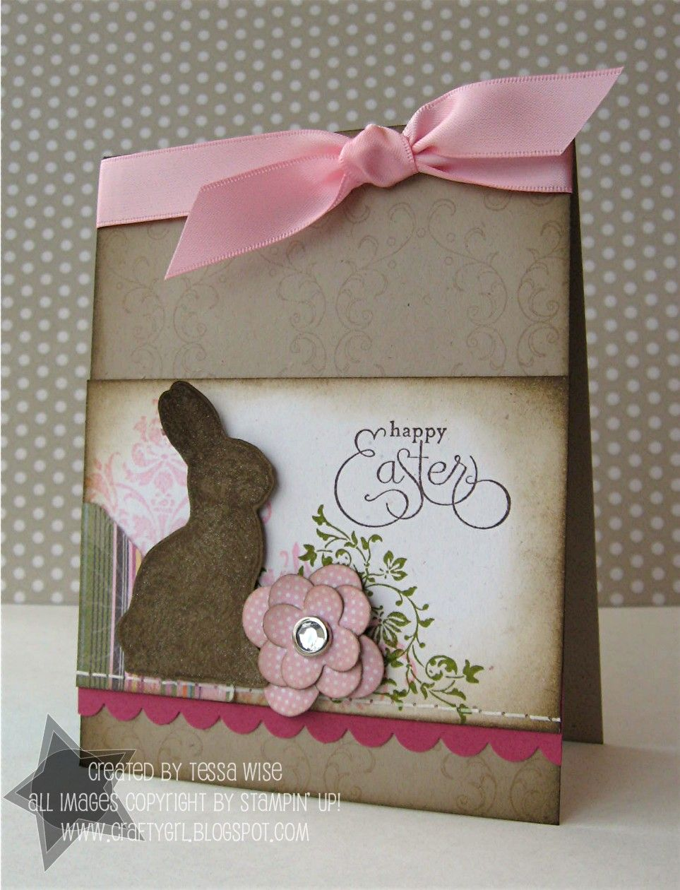 vintagebunnycard with images  easter cards
