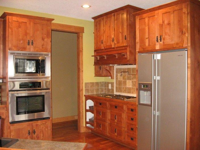 Alder wood, shaker style | Kitchen cabinet styles, Mission ...