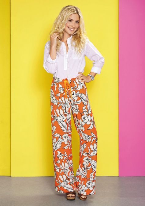 c160cfd6 Palazzo pants. Free pattern download from Sew Magazine UK Issue 89 ...